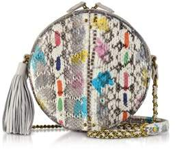 Jerome Dreyfuss Women's White Leather Shoulder Bag.