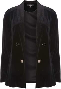 Dorothy Perkins Black Velvet Suit Jacket