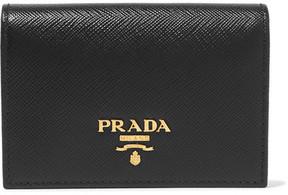 Prada Textured-leather Cardholder - Black