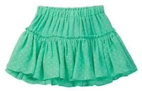 Kate Spade clipped dot skirt (Toddler & Little Girls)