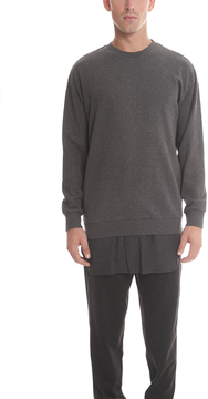 3.1 Phillip Lim Long Sleeve Pullover Flannel Tail