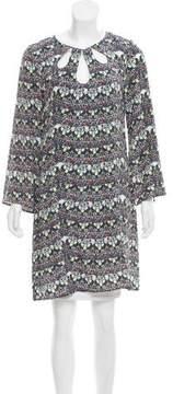 Issa Printed Silk Dress