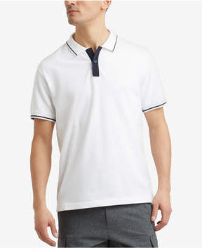 Kenneth Cole New York Men's Tipped Polo