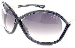 Tom Ford TF 9 B5 Womens Black Plastic Sunglasses