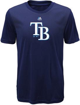 Majestic Kids' Tampa Bay Rays Geo Strike T-Shirt, Big Boys (8-20)
