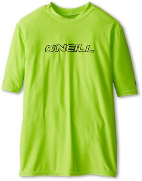 O'Neill Kids - Basic Rash Tee Kid's Swimwear