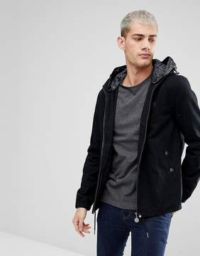 Pretty Green Beckford Jacket in Black