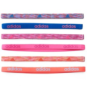 Adidas Women's Adidas Fighter 6-pk. Whimsy & Solid Headband Set