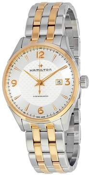Hamilton Jazzmaster Viewmatic Silver Dial Automatic Men's Two Tone Watch