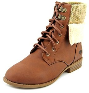 Rocket Dog Orlenna Round Toe Synthetic Ankle Boot.