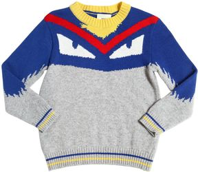 Fendi Monster Wool & Cashmere Sweater