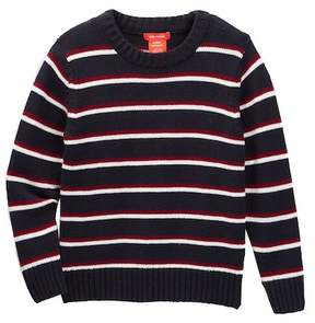 Joe Fresh Stripe Sweater (Toddler & Little Boys)