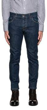 Entre Amis Men's Blue Cotton Jeans.