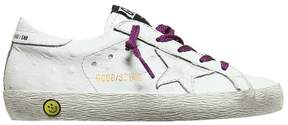 Golden Goose Deluxe Brand Super Star Embossed Leather Sneakers