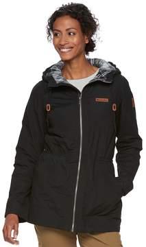 Columbia Women's Cedar Grove Flannel Lined Rain Jacket