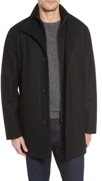 Cole Haan Men's Melton Wool Blend Coat