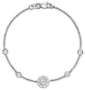 Bloomingdale's Diamond Station Bracelet in 14K White Gold, .80 ct. t.w. - 100% Exclusive