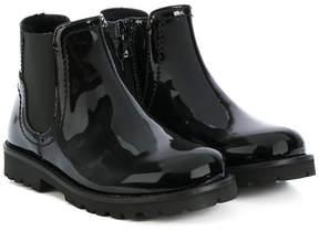Dolce & Gabbana side zip boots