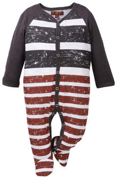 7 For All Mankind Footie (Baby Boys)