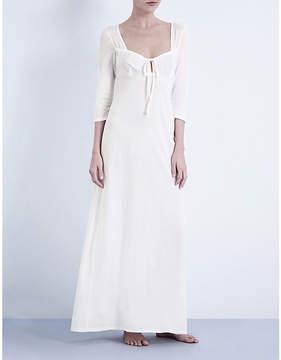Bodas Long cotton-jersey nightdress
