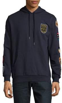 Reason Patch-Accented Hoodie