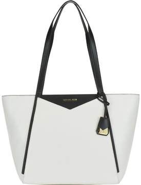 Michael Kors Large Whitney Bag - OPTICWHT/BLK - STYLE