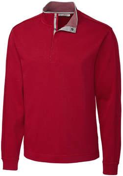 Cutter & Buck Red Fulltime Supima Pullover - Men
