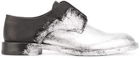 Maison Margiela painted derby shoes