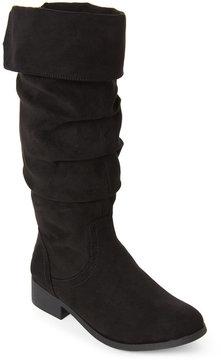 Steve Madden Kids Girls) Black Patra Tasseled Slouchy Boots