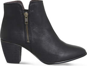 Office Justine leather ankle boots