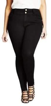 City Chic Plus Asha Skinny Jeans
