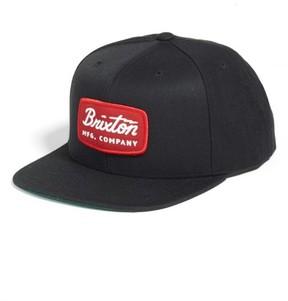Brixton Men's 'Jolt' Snapback Cap - Black