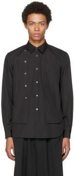 Comme des Garcons Black Double Shirt