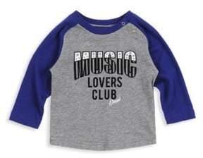 Diesel Baby's Music Lovers Club Cotton Tee