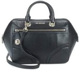 Love Moschino Double-Top Shoulder Bag