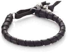 King Baby Studio Thin Natural Wrap Leather Bracelet