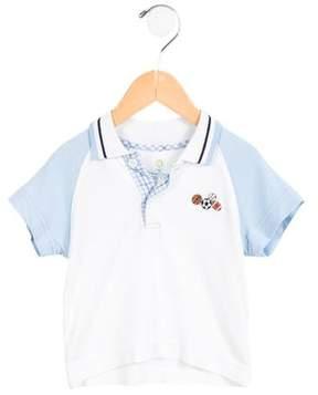 Florence Eiseman Boys' Embroidered Polo Shirt