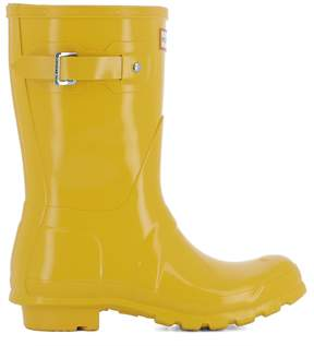Hunter Yellow Rubber Boots