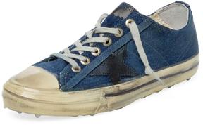 Golden Goose Deluxe Brand Men's Leather Cap-Toe Low Top Sneaker
