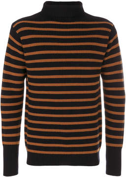 Barena striped roll neck jumper
