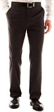 Jf J.Ferrar Men's JF Solid Flat-Front Slim Fit Big & Tall Pants