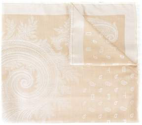 Etro woven paisley scarf