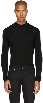 BLK DNM Black Skinny Rib 84 Sweater