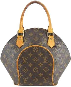 Louis Vuitton Ellipse cloth satchel - BROWN - STYLE
