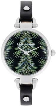 Christian Lacroix Women's Jungle Quartz Watch, 32mm