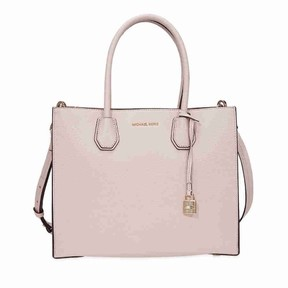 Michael Kors Mercer Large Leather Tote- Soft Pink - ONE COLOR - STYLE
