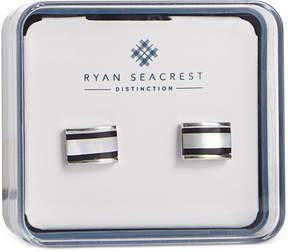 Ryan Seacrest Distinction Men's Mother of Pearl Cuff Links, Created for Macy's