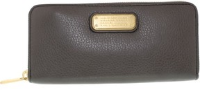 Marc by Marc Jacobs New Q Long Trifold Women Blue Wallet