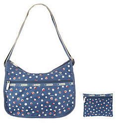 LeSportsac Printed Nylon Classic Hobo with Pouch