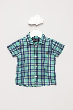 Mayoral Short Sleeve Checked Shirt